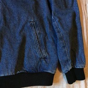 American Apparel Jackets & Coats - American Apparel RARE denim bomber jacket